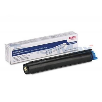 OKIDATA B2200 B2400 TONER CARTRIDGE BLACK